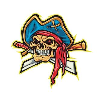 Demon pirates esport 로고