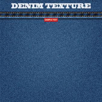 Denim texture blue color of jeans background for your design