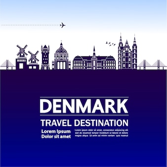 Denmark travel destination.