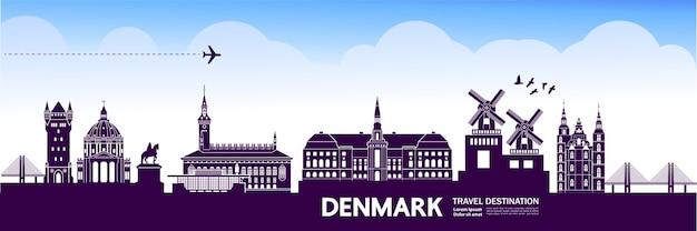 Denmark travel destination.