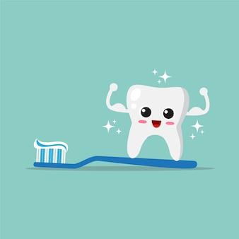 Dental care background