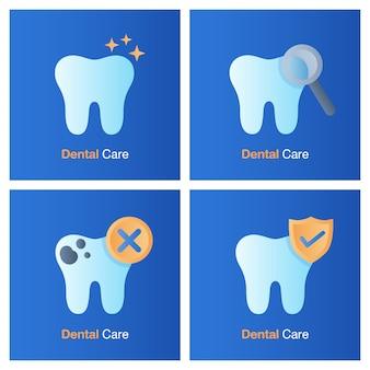 歯科治療のコンセプトです。予防、検診および歯科治療。