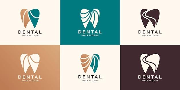 Логотип стоматологической помощи для компании