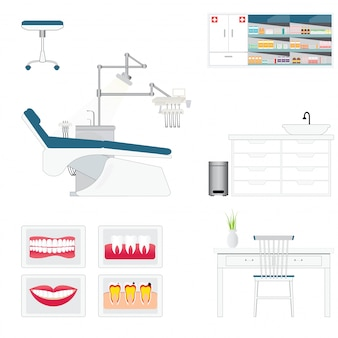 Dental care supply room