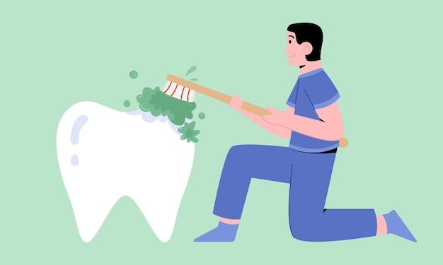 歯の手入れ