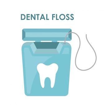 Dental design over white background vector illustration