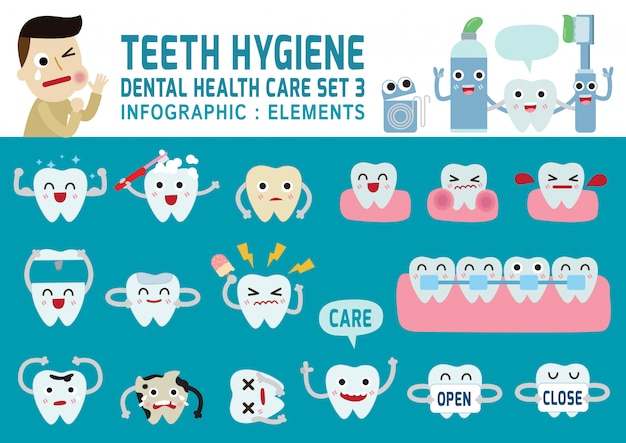 Dental health care concept