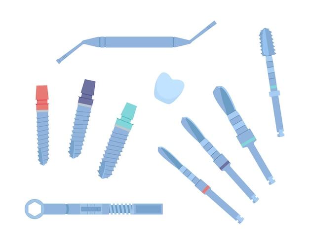 Стоматологические инструменты для дентальных имплантатов