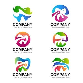 Dental logo collection