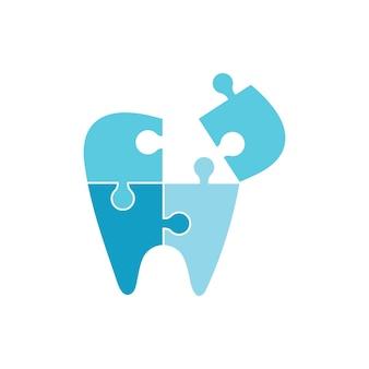 치과 로고 템플릿 벡터 일러스트 아이콘 디자인