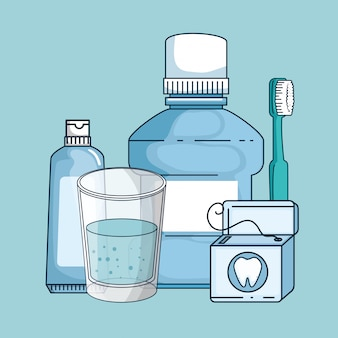 Dental medicine equipment hygiene treatment