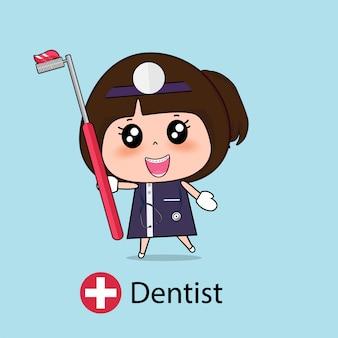 歯科医の漫画のキャラクター