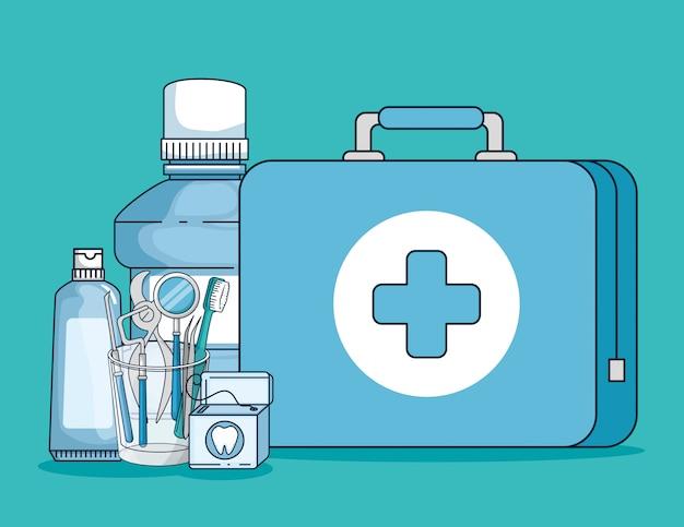 Dentist medicine equipment and oral hygine