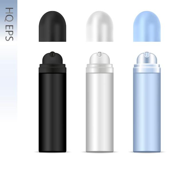 Deodorant spray aluminum can set