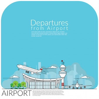 Departures from airport