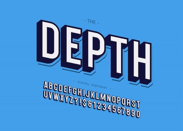 깊이 글꼴