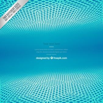 Depth net blue background