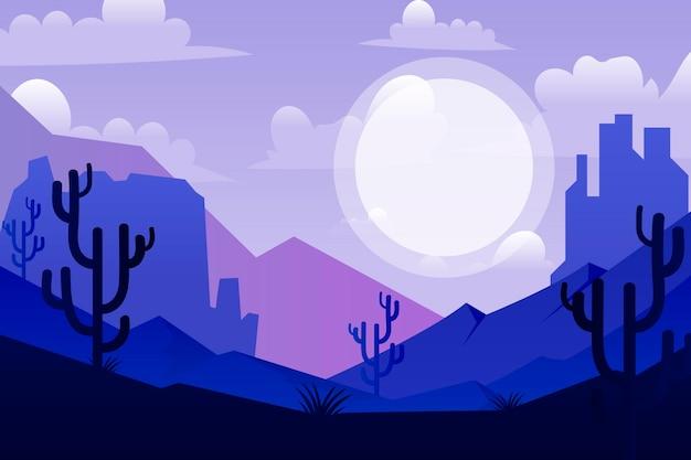 사막 배경 화상 회의