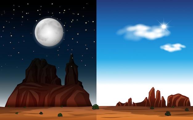 Днем и ночью в пустыне