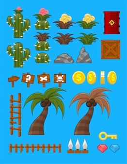 Desert game objects