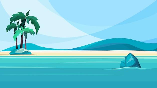 Приморский необитаемый остров