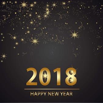 幸せな新年の背景desgin