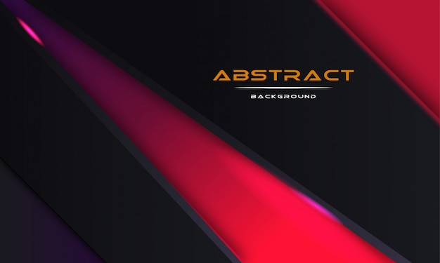 Design abstract 3d background with black paper layers