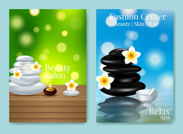Design advertising poster for cosmetic product for catalog