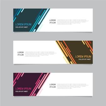 Design banner background. modern web template