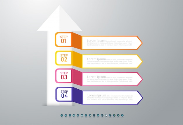 Design business infographic chart element.