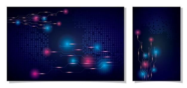 デザインコンセプト、デジタル通信。