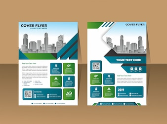 Design cover book brochure