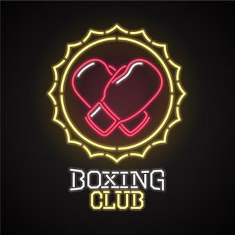 デザイン要素は、ボクシンググローブのステッカーまたはポスターとして使用できます。