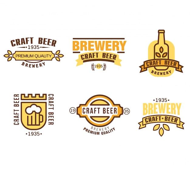 Элементы дизайна для beer house