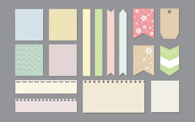 Элементы дизайна для ноутбука