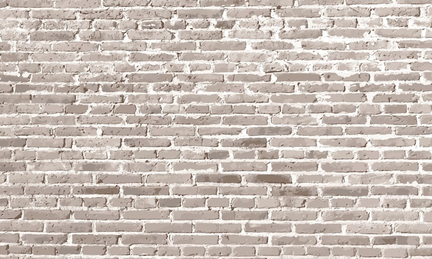 Design elements white brick wall