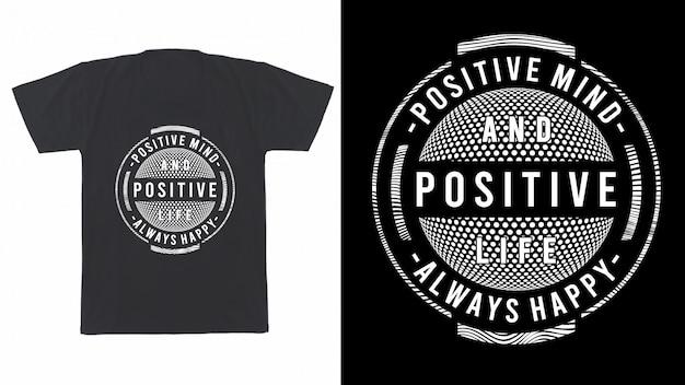 Дизайн футболки с принтом и не только