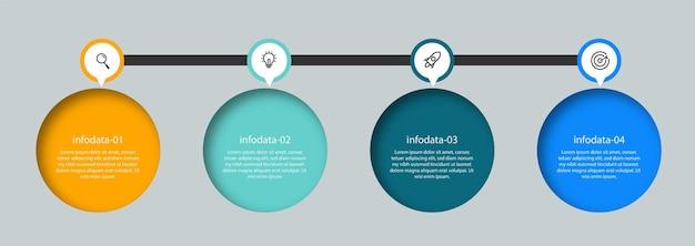Design infographic element template