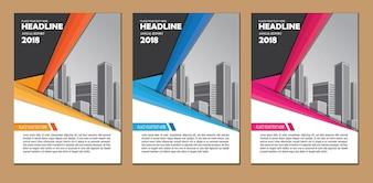 Design layout brochure business template
