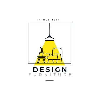 Modello di logo design
