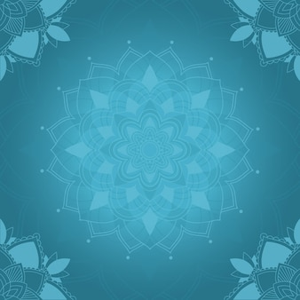 Design mandala art background