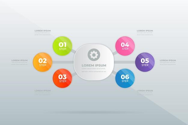 Design modern professional steps