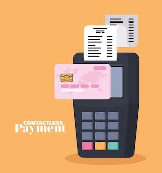 Дизайн бесконтактной оплаты