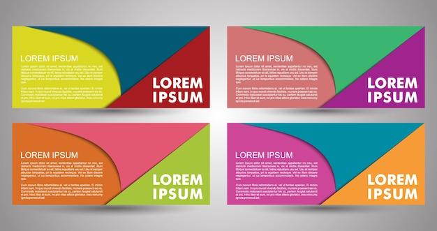 전단지, 배너, 브로셔 및 카드 디자인