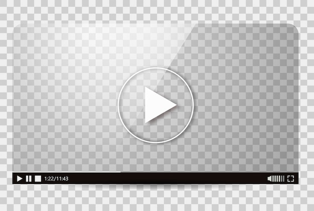 Дизайн видео плеера