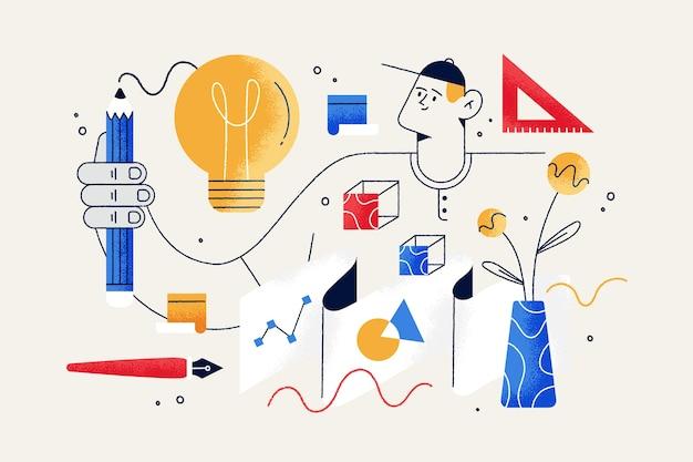 Концепция процесса проектирования для целевой страницы