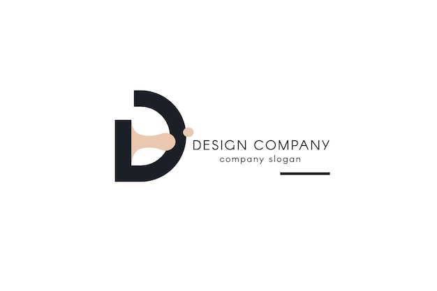 Design studio logotype template