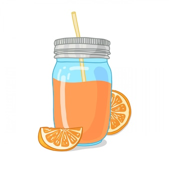 Design template banner, poster, icons fruit smoothies.