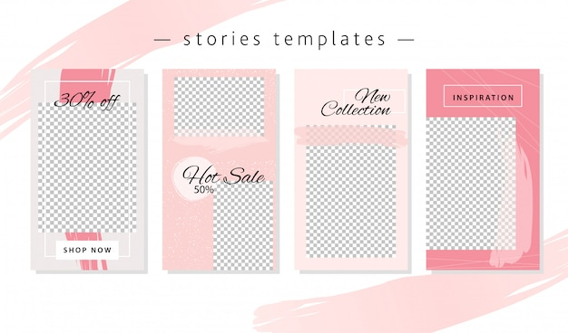 Design templates for social networks.
