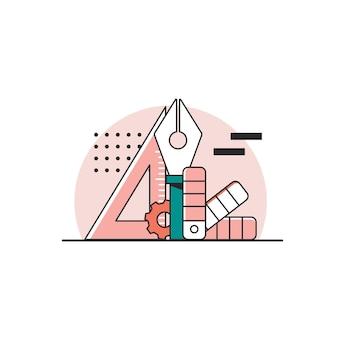 Инструменты дизайнаконцепция веб-разработкипроцесс графического дизайна